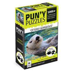 "Pun-y Puzzles - ""Otterly Gorgeous"""