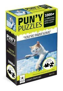 "Pun-y Puzzles - ""You're Pawesome"""