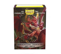 Dragonshield matte art sleeves- Valentine Dragon