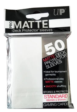 Ultra Pro Sleeves Standard 50 - White