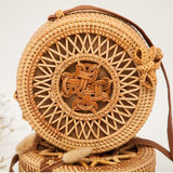 Hand-made Woven Straw Bag