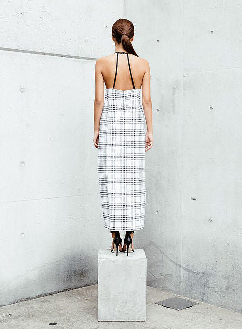 Tartan Maxi Dress