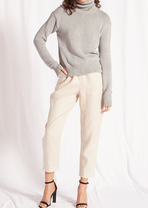 Sophia Knit- Grey