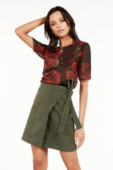 Tia Wrap Skirt