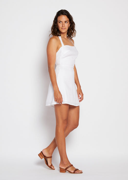 Naomi Mini Dress- White