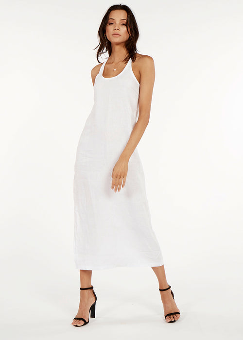 Positano Maxi Dress- White