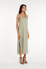 Positano Maxi Dress- Sea Grass