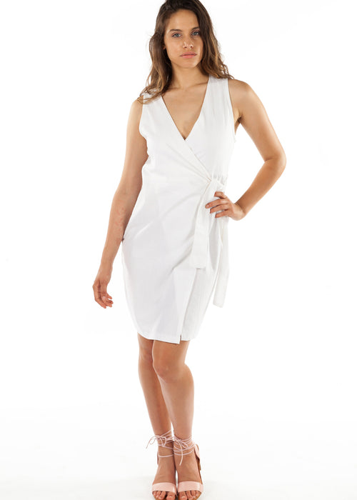Santorini Wrap Dress