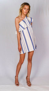 Jane Dress-Pool Stripe
