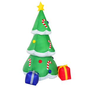 Outdoor Inflatable Decoration Christmas Tree with Gift Boxes 6'