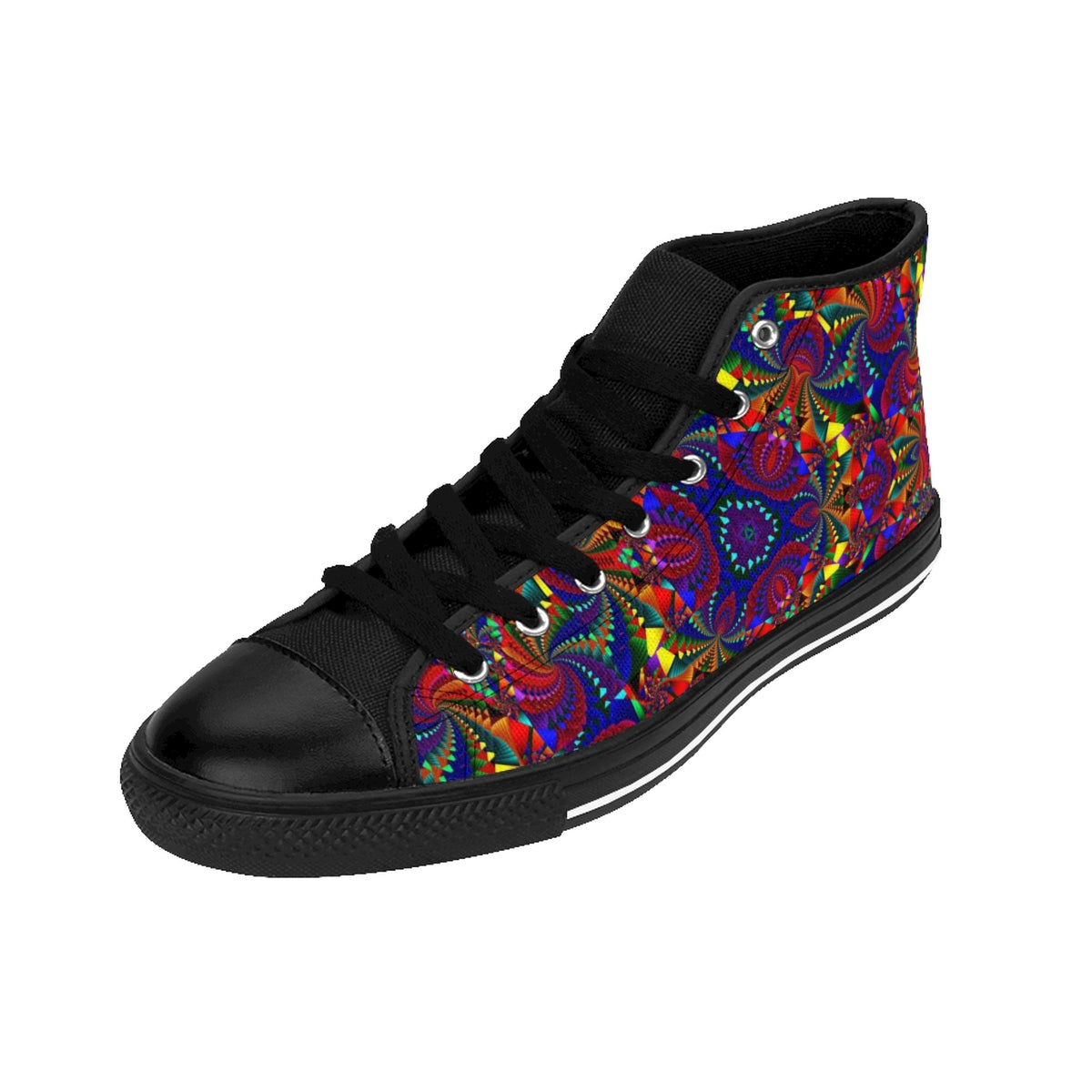 kaleidoscope Mandala Women's High-top Sneakers
