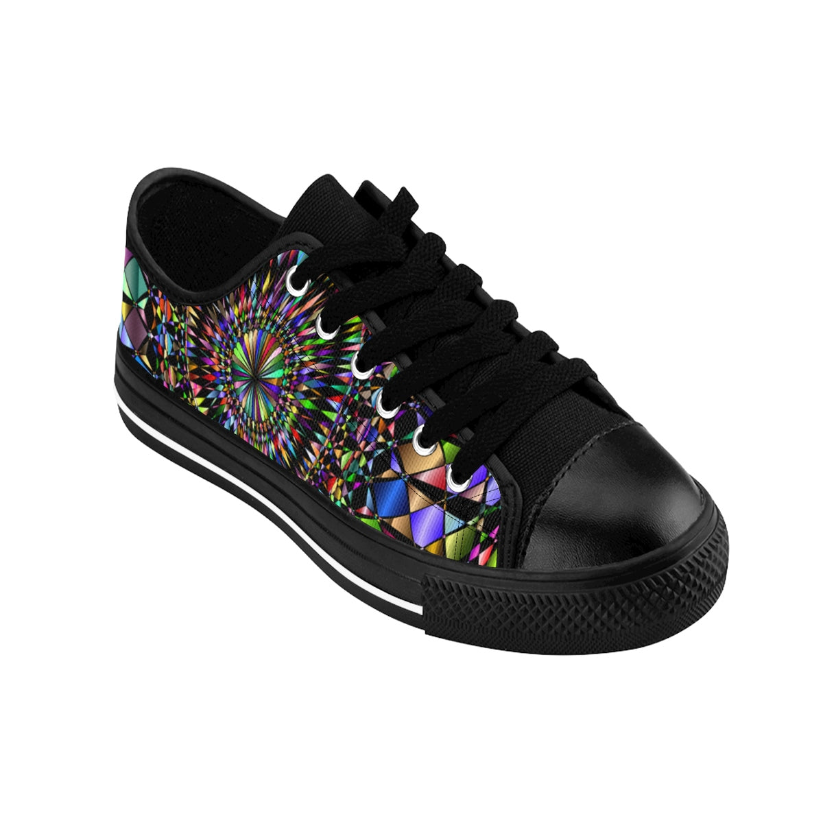 Checkered Mandala  Shoes