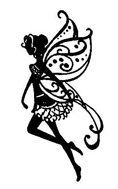 Vintage Mermaid Temporary Fairy Tattoo Rockabilly Pin Up