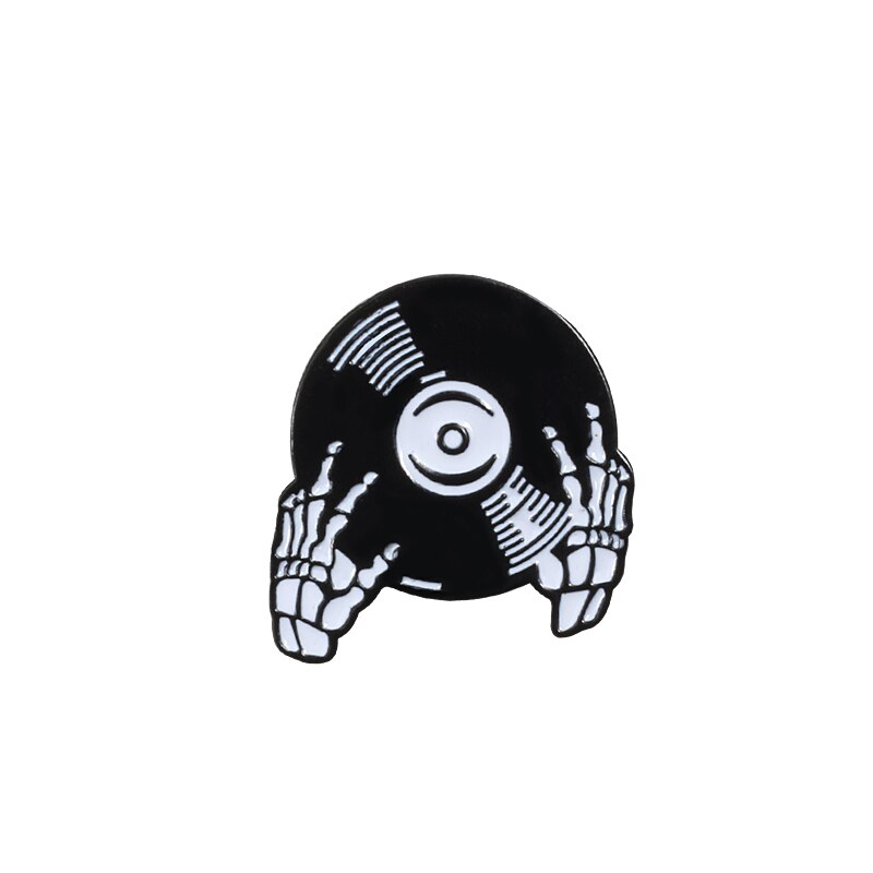 Punk Dark Brooches Enamel Pins