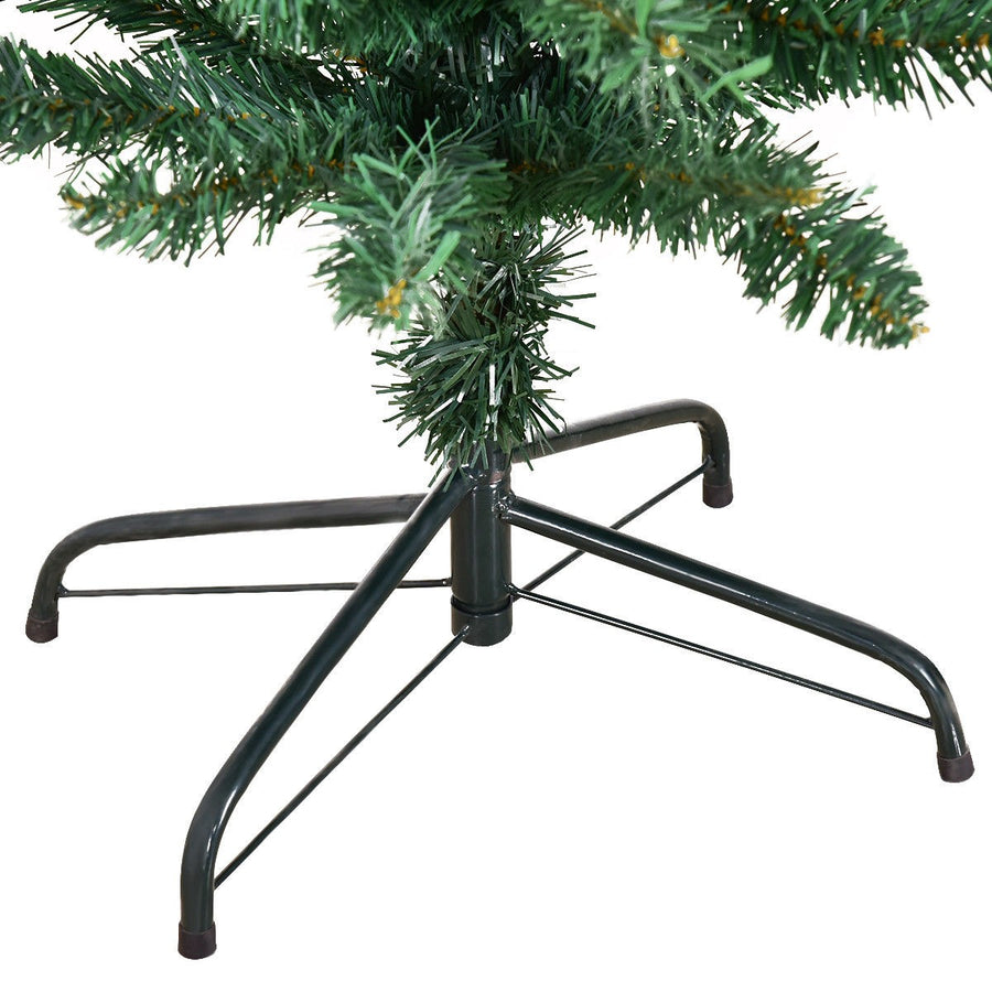 Christmas Tree with Stand 9' PVC Artificial Slim Pencil
