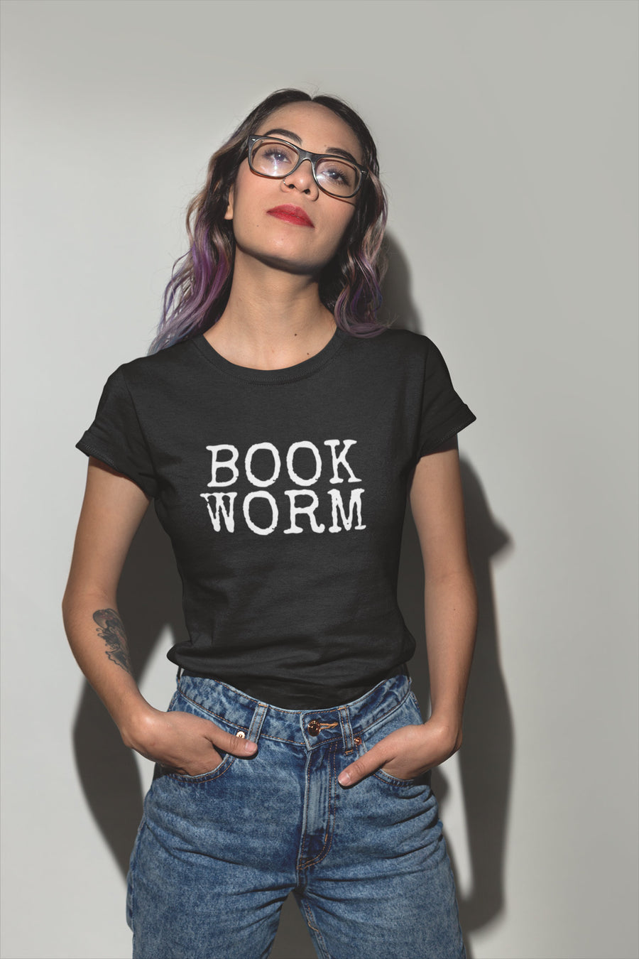 Bookworm Short-Sleeve Unisex T-Shirt Reading Lover - Book Addict Shirt