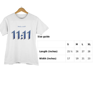 11:11 Make a Wish! Angel Number Short-Sleeve Unisex T-Shirt