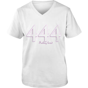 Angel Numbers 444 Make a Wish! Short-Sleeve Unisex T-Shirt Adult Unisex Vneck Tee
