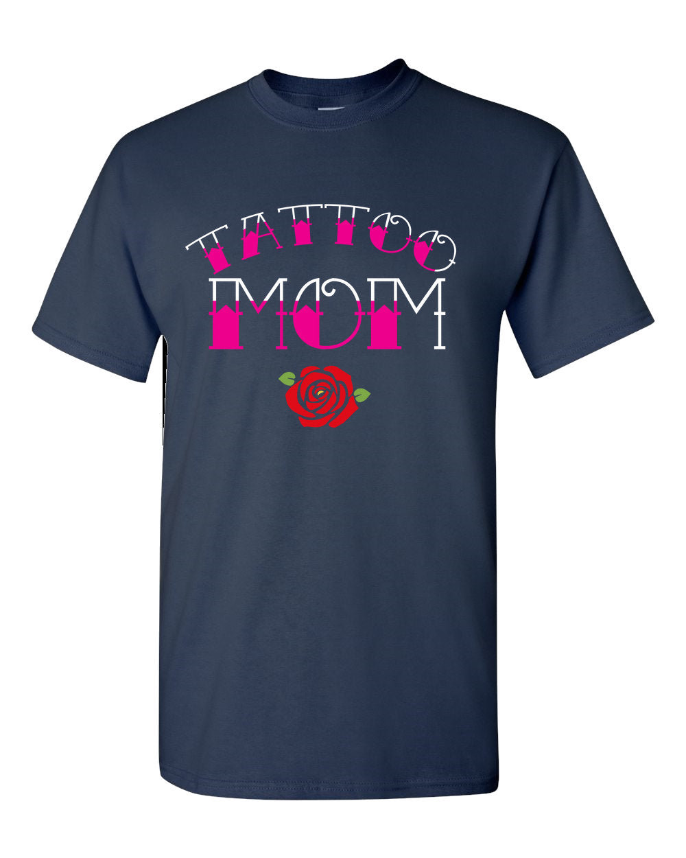 Tattoo Mom Short-Sleeve Women T-Shirt - Great Gift For Mom -Inked Mom