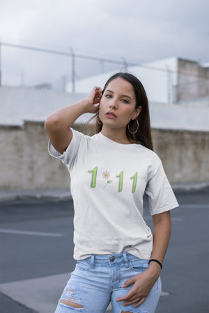 111 Angel Numbers Adult Unisex T-Shirt