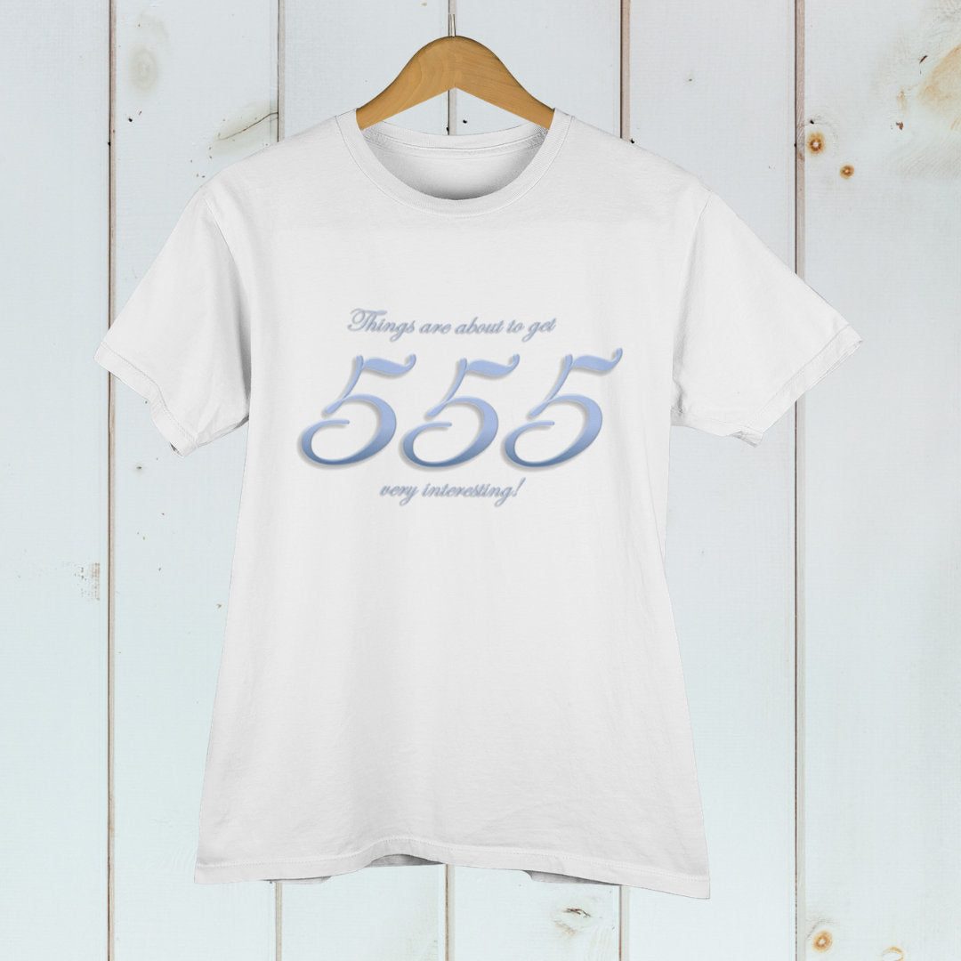 Angel Number 555 Adult Unisex T-Shirt Numerology