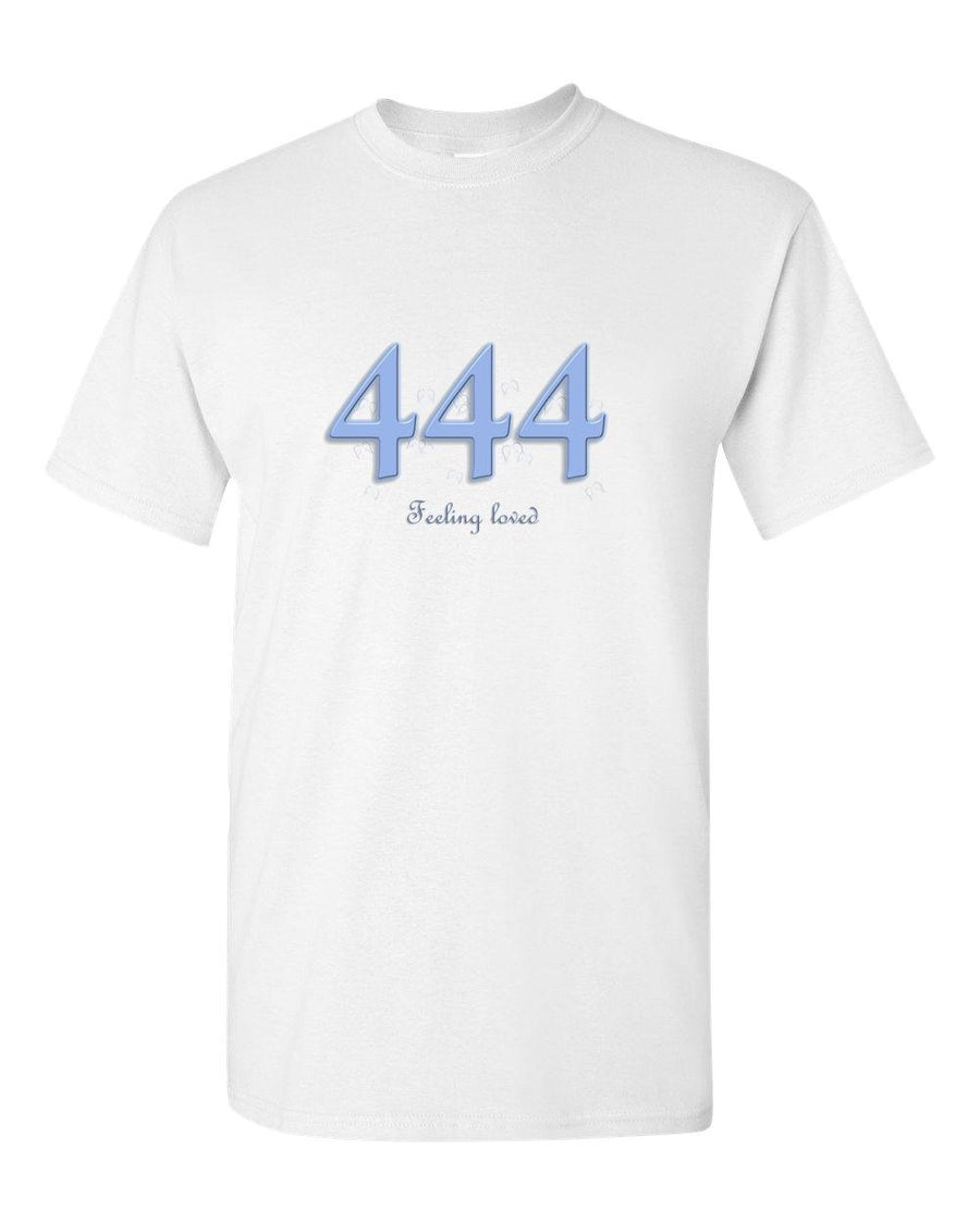 Angel Numbers - 444 Feeling Loved - Adult Unisex T-Shirt