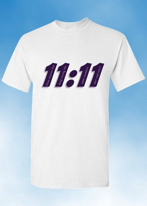 Angel Numbers  11:11 - Does Anyone Else... - Adult Unisex T-Shirt