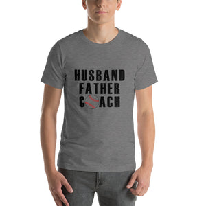 Husband Father Coach Short-Sleeve Unisex T-Shirt