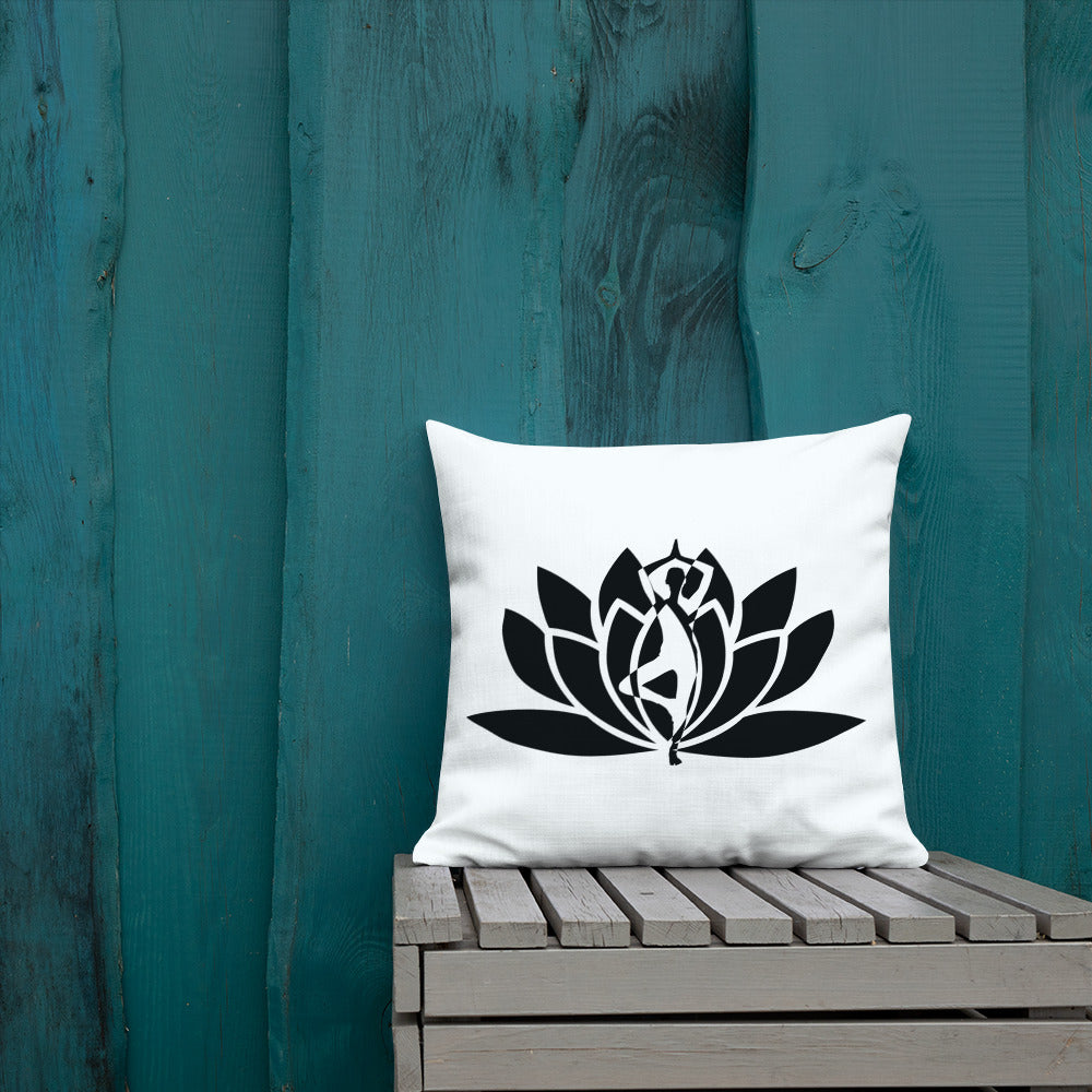 Premium Buddha Lotus Flower Pillow