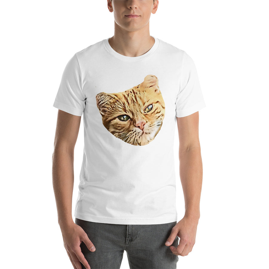 I Love My Cat - Short-Sleeve Unisex T-Shirt Polera de Gato Cat Lover