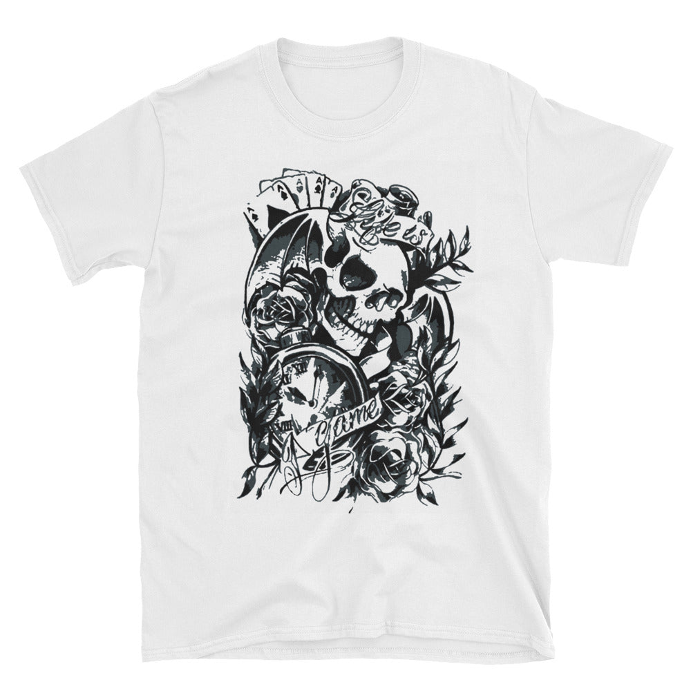 "Skull T-Shirt ""Life is a Game"""