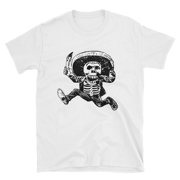 Day of the Dead Unisex T-Shirt,  Dia de los Muertos -  Skull Shirt