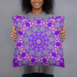 Kaleidoscope Mandala  All-Over Print Basic Pillow Case w/ stuffing
