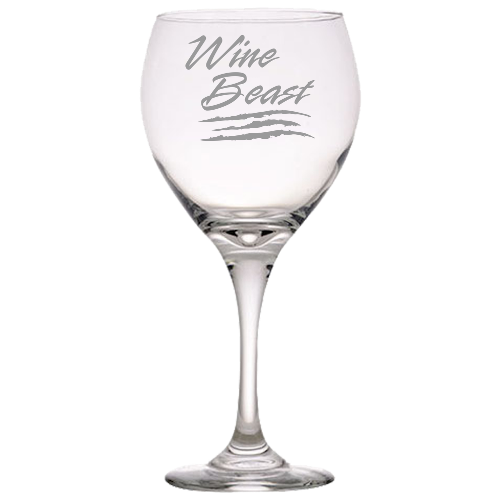 WINE BEAST Red Wine Glass