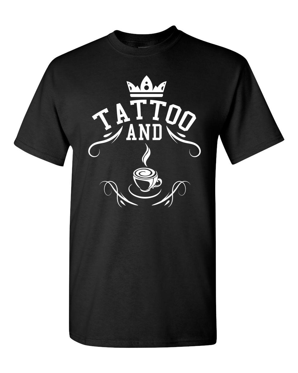 Tattoo and Coffee - Short-Sleeve Unisex T-Shirt