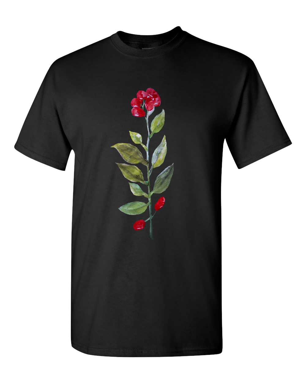Botanic Water Color T-Shirt.