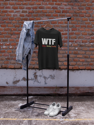 WTF Wine Turkey Family Shirt - perfect holiday gift idea - For Women and Men Thanksgiving T-Shirts