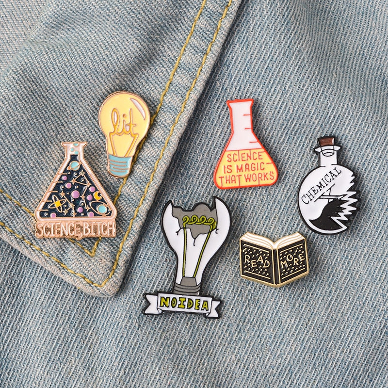 Magic Science Enamel Pins