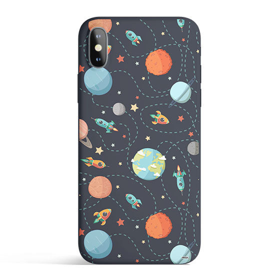Space Case - Colored Candy Matte TPU iPhone Case Cover