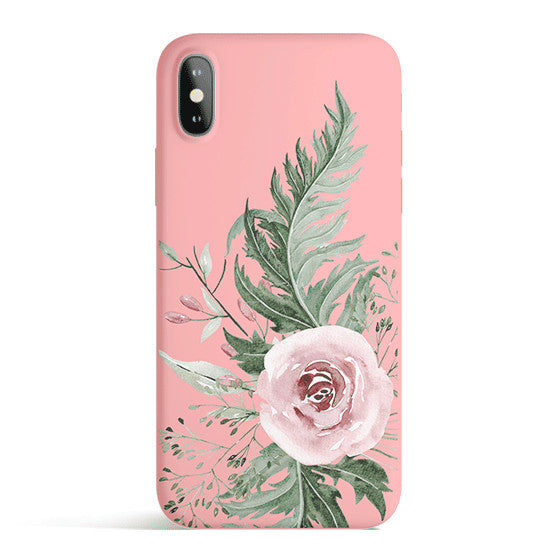 Dusty Pink - Colored Candy Matte TPU iPhone Case Cover
