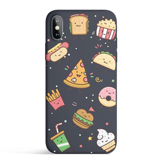 Kawaii Junk Food - Colored Candy Matte TPU iPhone Case Cover