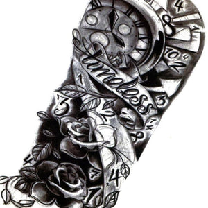 Timeless Large Totem Temporary Tattoo [Black]