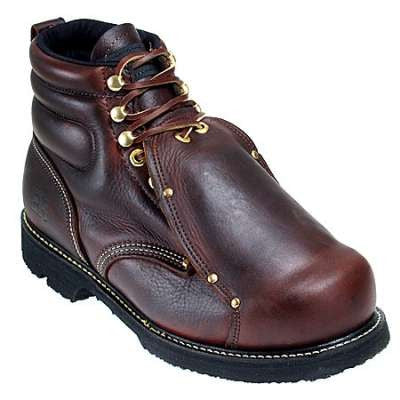 "Carolina Men's 6"" Wide Toe Met Boot- 508"