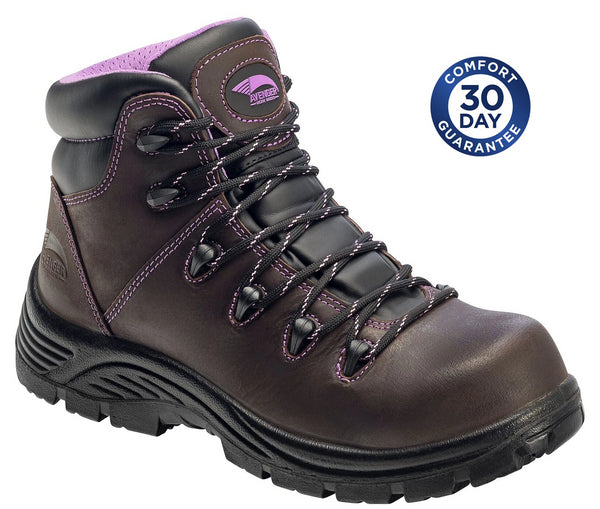 "Avenger A7123 - 6"" Women's Waterproof & Puncture Resistant Composite Toe Boot"