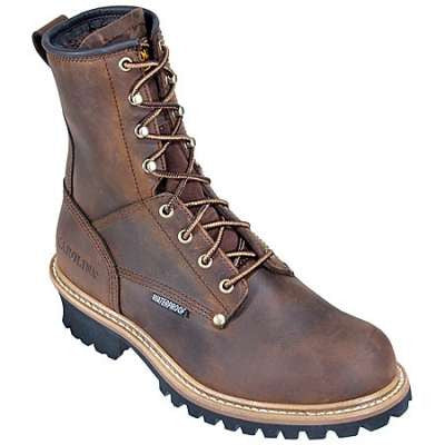 "Carolina Men's 8"" Waterproof Logger - CA9823"