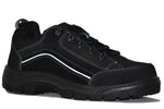 Work Zone Men's Soft Toe Waterproof Slip Resistant Athletic - N440BLK