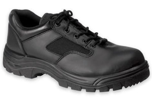 Work Zone Women's Soft Toe Slip Resistant Oxford - N477BLK-W