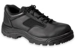 Work Zone Men's Soft Toe Slip Resistant Oxford - N477BLK