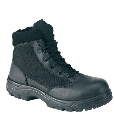 "Work Zone Women's 6"" Soft Toe Slip Resistant Boot - N677BLK-W"