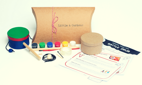 Rattle Drums Activity Kit